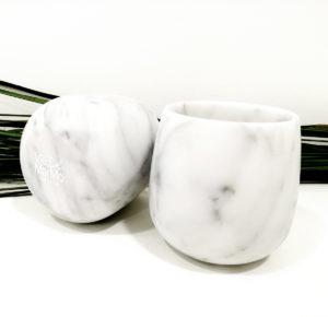 Goccia di Marmo - Set di 2 Bicchieri