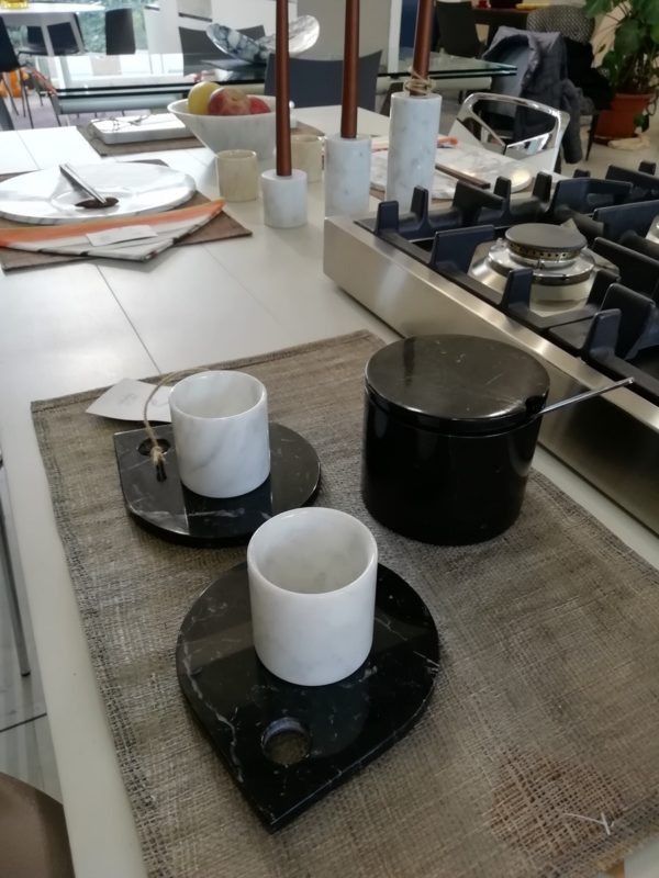 Espresso Cups and Saucers - Set of 2